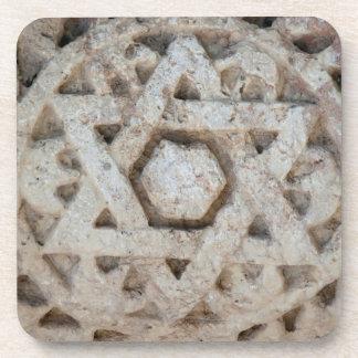 Old Star of David carving, Israel Coaster
