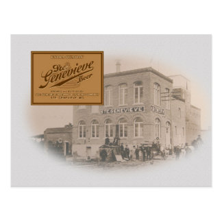 Old Ste. Genevieve Brewery Postcard
