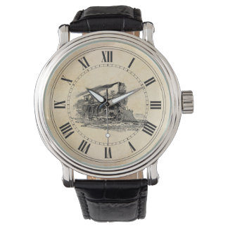 Old Steam Locomotive Watch
