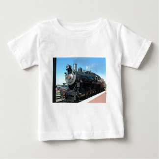 Old Steam Train One of a Kind Photo Shoot Baby T-Shirt