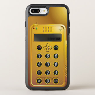 Old Steampunk-Phone OtterBox Symmetry iPhone 7 Plus Case