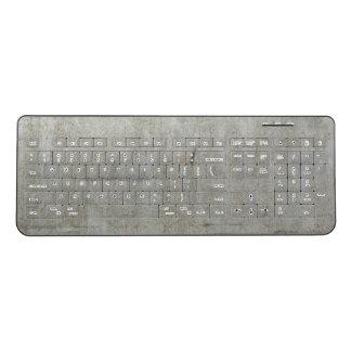 Old Steel Wireless Keyboard
