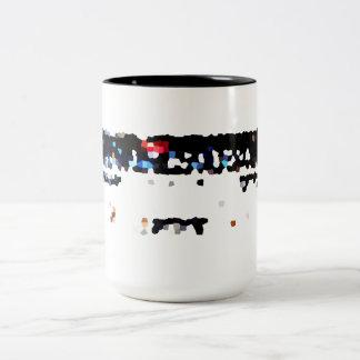 Old stereo Two-Tone mug