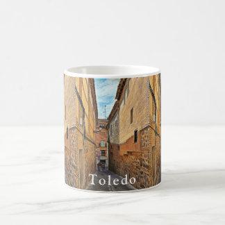 Old street in Toledo Coffee Mug