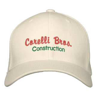 Old-Style Construction Company Cap