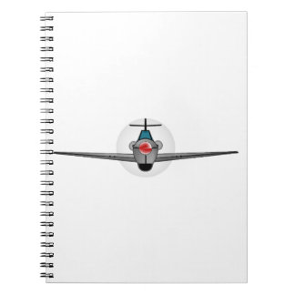 Old Style Fighter Aircraft Notebook