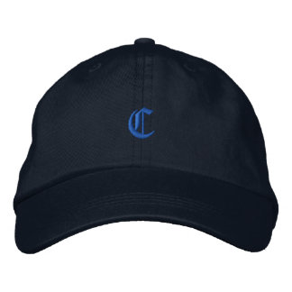 Old Style Letter C Embroidered Hat