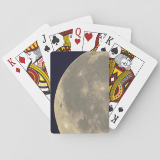 Old Style Moon Photo Poker Deck