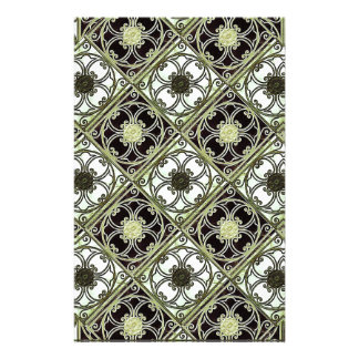Old Style Ornament Pattern Stationery