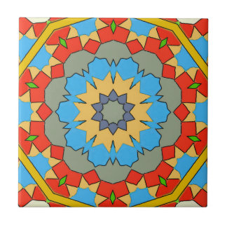 Old Style Spanish Tile Reds