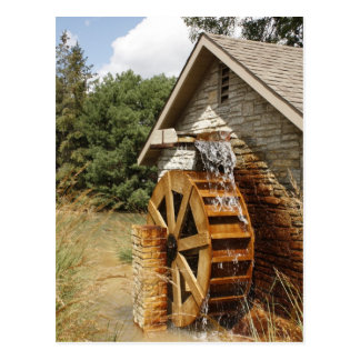 Old Style Watermill Postcard