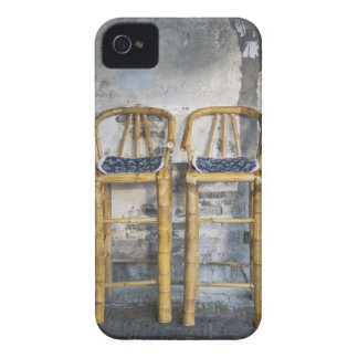 Old styled bamboo chairs, Xitang, Zhejiang, Case-Mate iPhone 4 Case