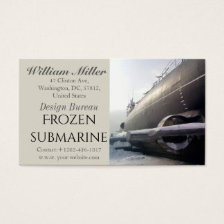 Old Submarine Business Card