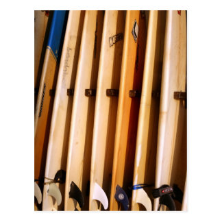 Old Surfboards for Hire Postcard
