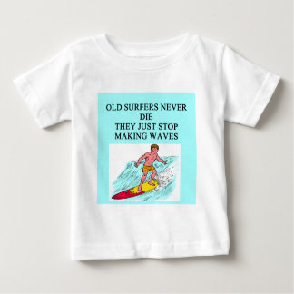 old surfer joke shirt