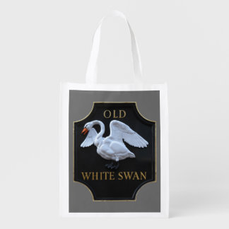 Old Swan Reusable Grocery Bag