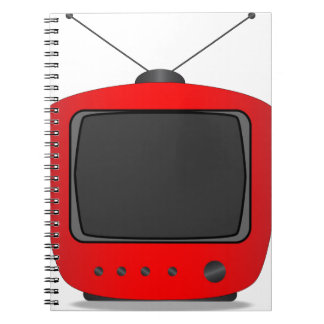 Old Television Set Notebooks