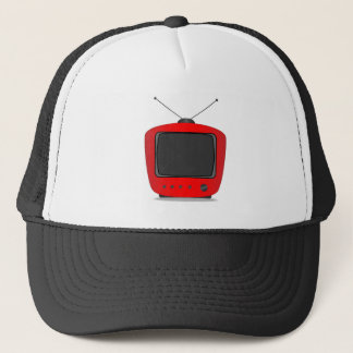 Old Television Set Trucker Hat