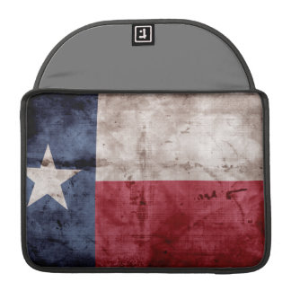 Old Texas Flag Sleeve For MacBook Pro