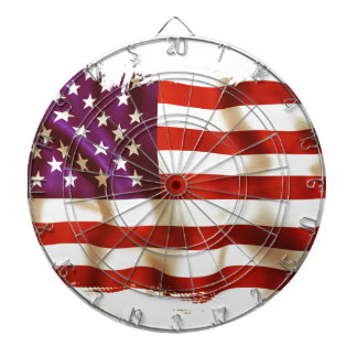 Old the USA flag Dart Boards
