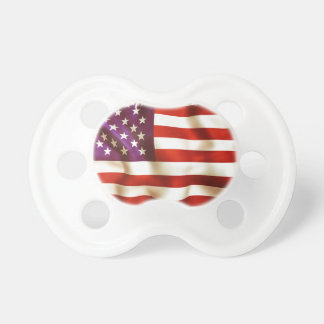 Old the USA flag Pacifiers
