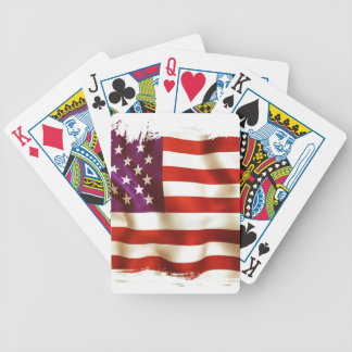 Old the USA flag Poker Deck