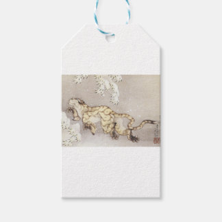 Old Tiger in the Snow Gift Tags