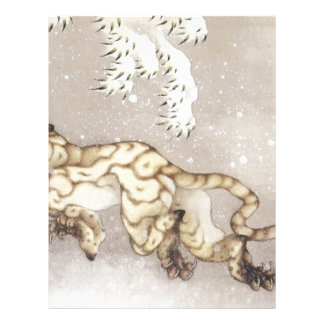 Old Tiger in the Snow Letterhead