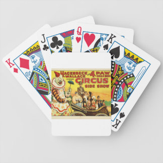 Old time Circus Bicycle Playing Cards