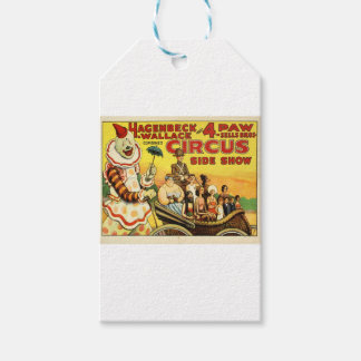 Old time Circus Gift Tags