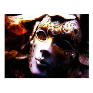 Old Time Masquerade Postcard