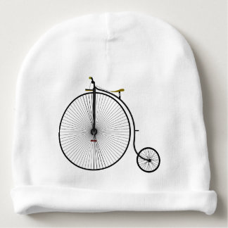 Old Time Penny Farthing bicycle Baby Beanie