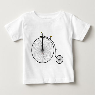 Old Time Penny Farthing bicycle Baby T-Shirt