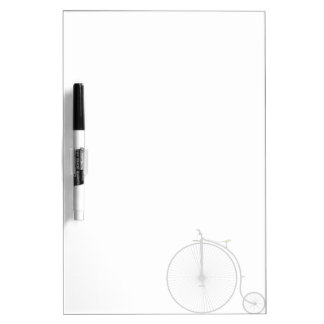 Old Time Penny Farthing bicycle Dry Erase Boards