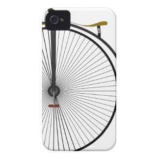 Old Time Penny Farthing bicycle iPhone 4 Case