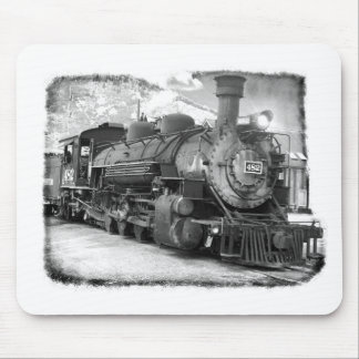Old Time Steam Locomotive Mouse Pad