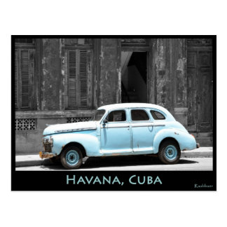 OLD TIMER IN HAVANA POSTCARD