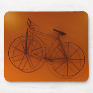 Old Times Bicycle  Photo Wallpaper Mouse Pad