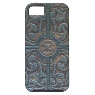 Old Tooled Leather Relic iPhone 5 Covers