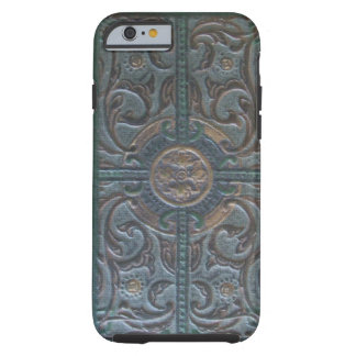 Old Tooled Leather Relic Tough iPhone 6 Case