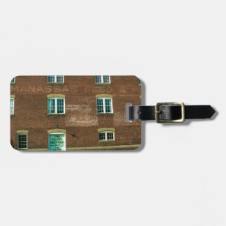 Old Town Building Bag Tag