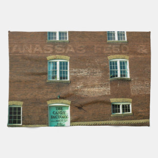 Old Town Building Kitchen Towel