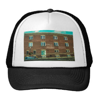 Old Town Building Trucker Hat