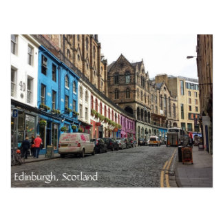 Old Town, Edinburgh, Scotland Postcard