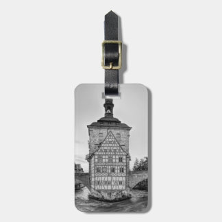 Old Town Hall and Obere Bridge in Bamberg Bag Tag
