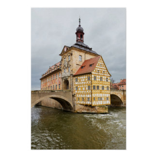 Old Town Halll in Bamberg in Germany Poster
