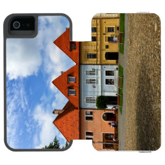 Old town houses in Bardejov, Slovakia Incipio Watson™ iPhone 5 Wallet Case