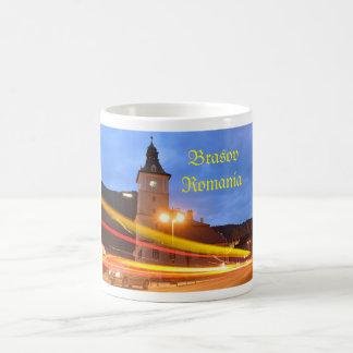 Old town of Brasov in Transylvania, Romania Coffee Mug