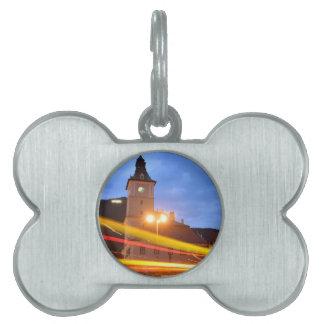 Old town of Brasov in Transylvania, Romania Pet ID Tags
