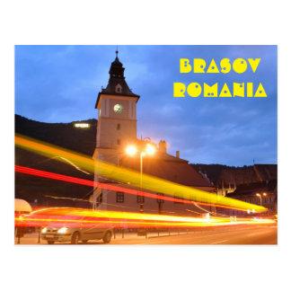 Old town of Brasov in Transylvania, Romania Postcard